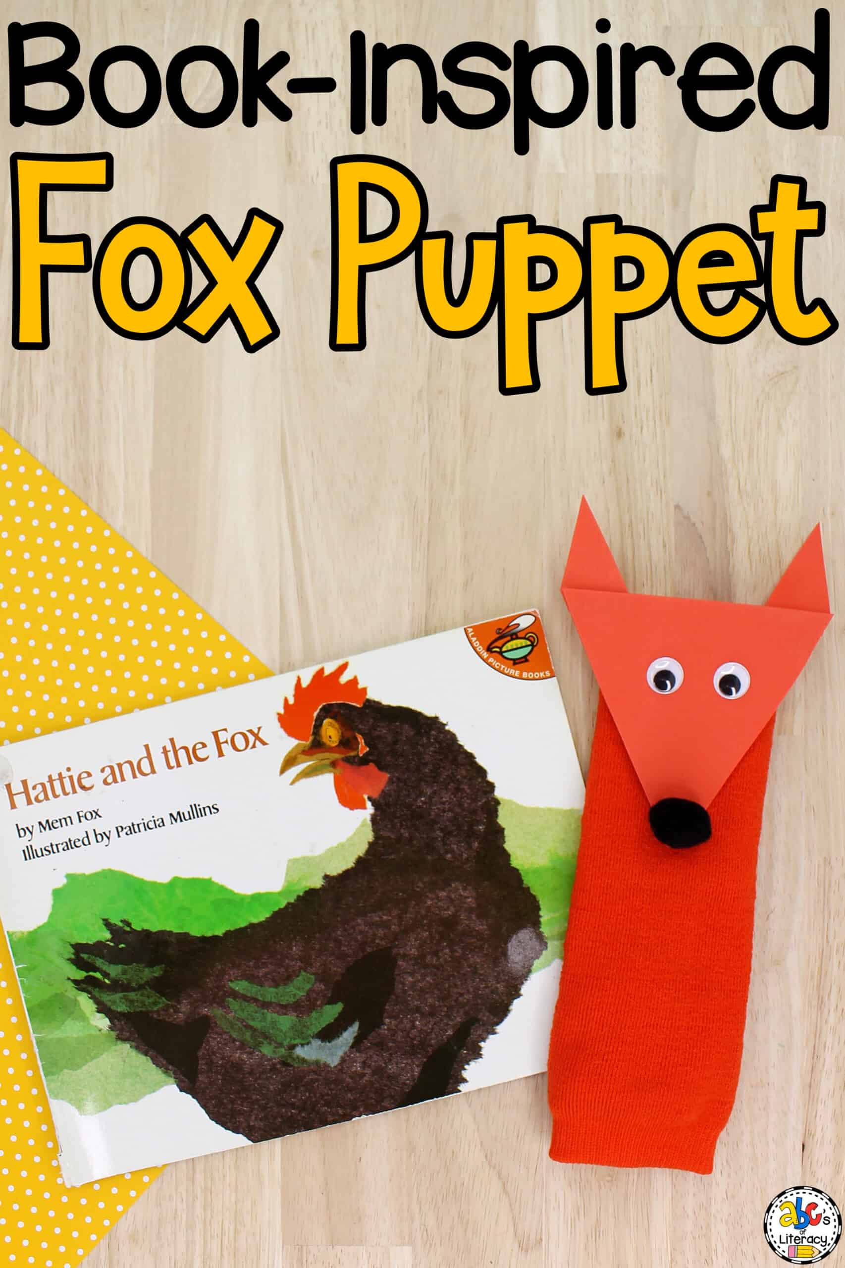 Fox Sock Puppet