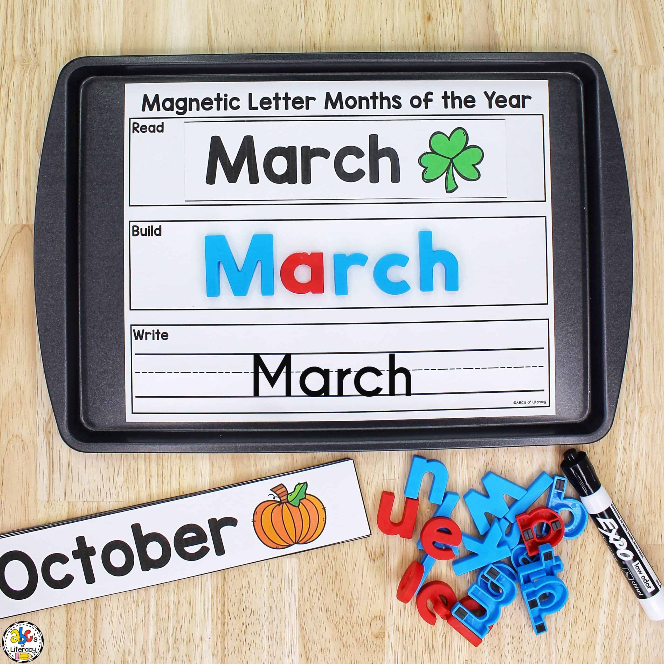 Magnetic Letters Activity
