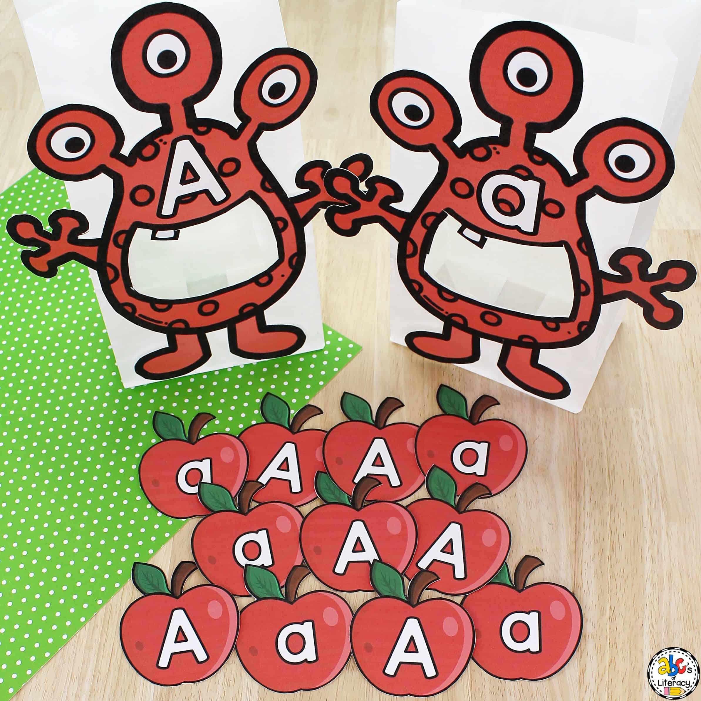Letter A Sorting Activity