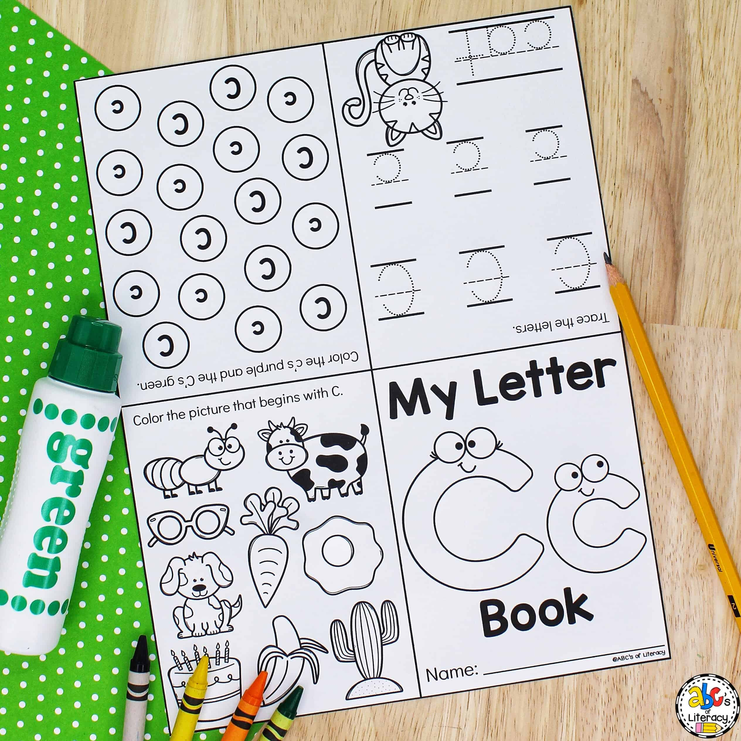 Foldable Letter Book