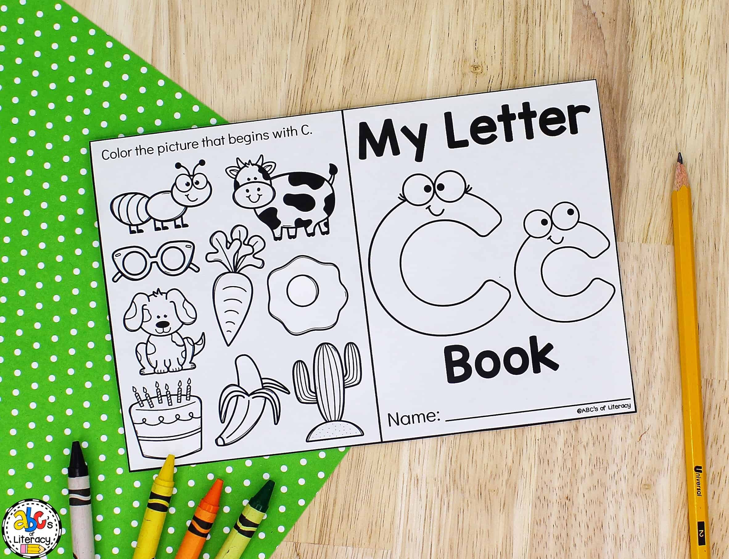 Printable Letter Book
