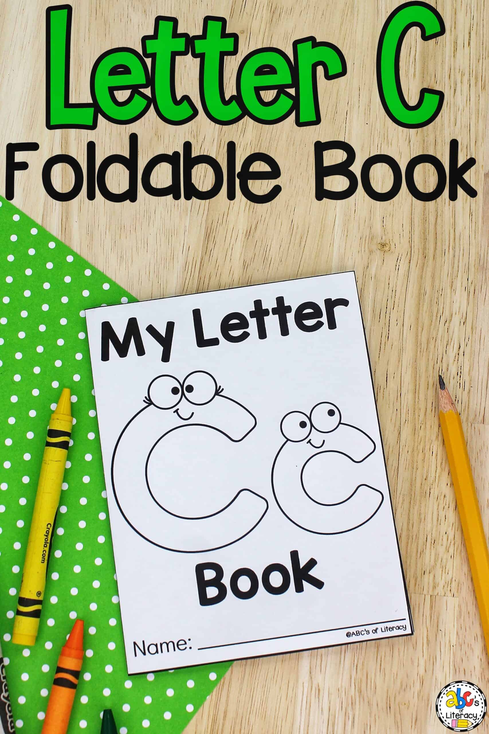 My Letter C Book