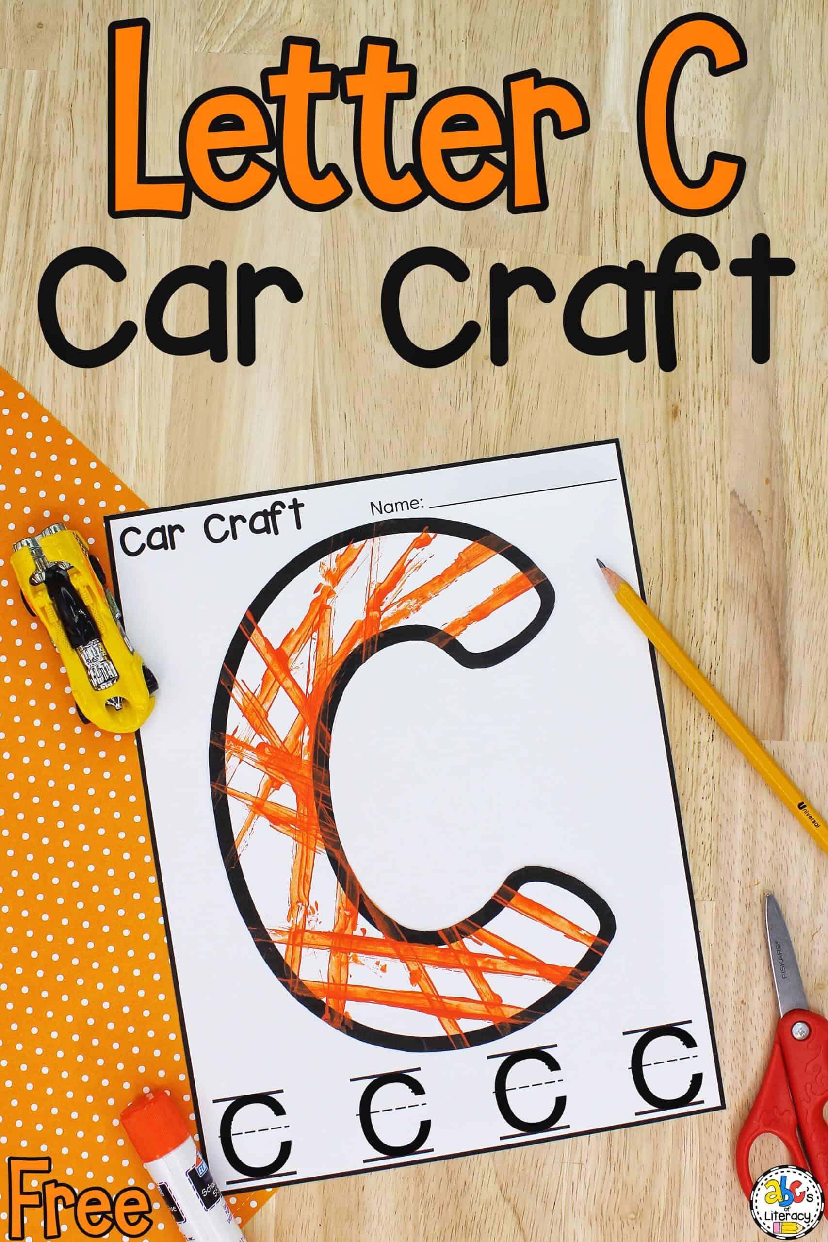Letter C Car Craft