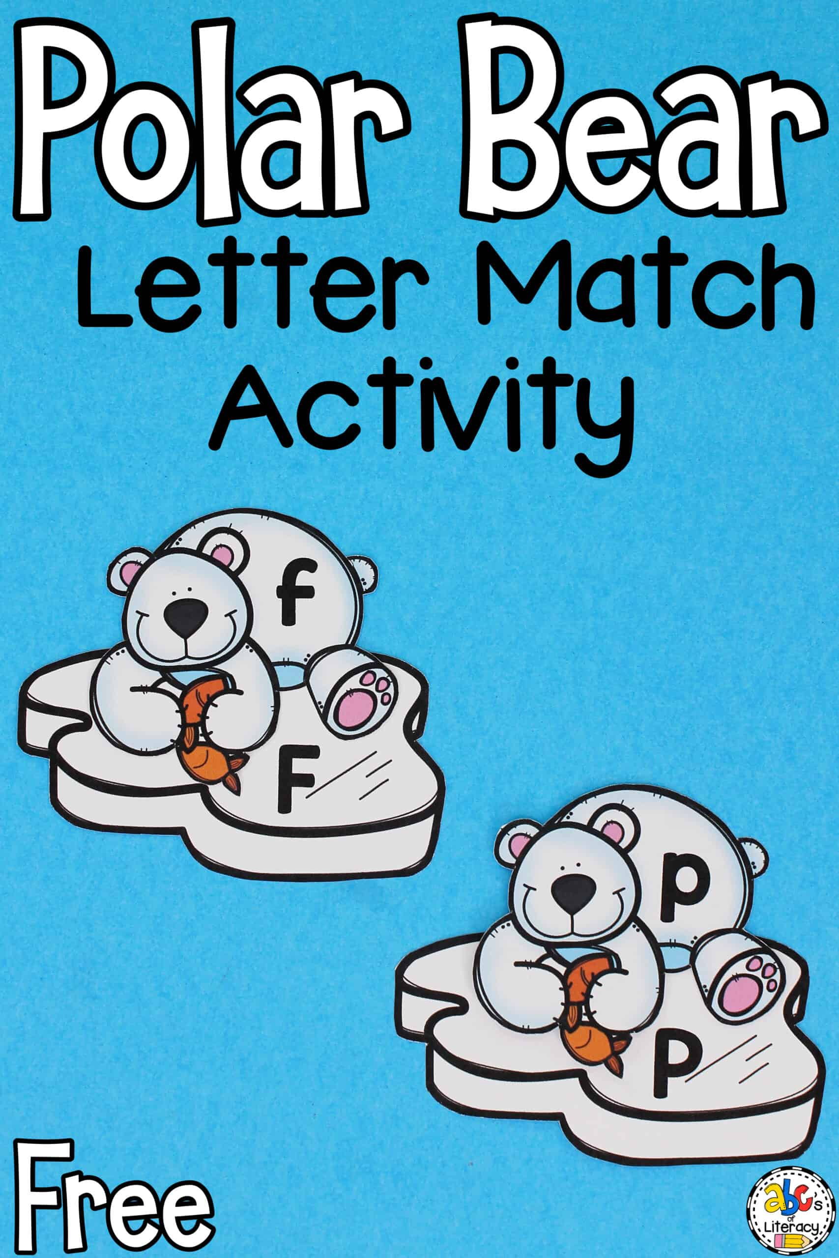 Polar Bear Letter Match Activity