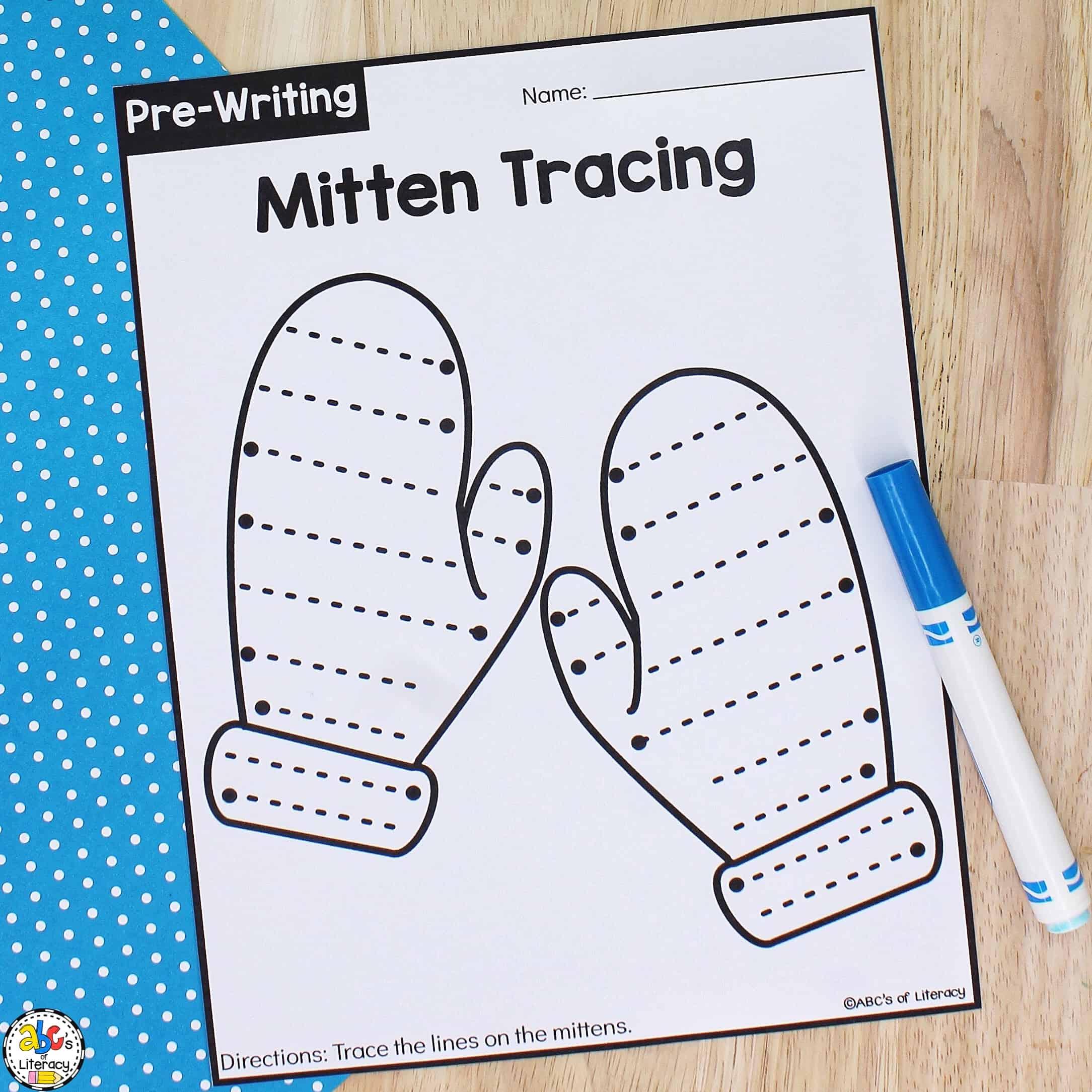 Pre-Writing Worksheets