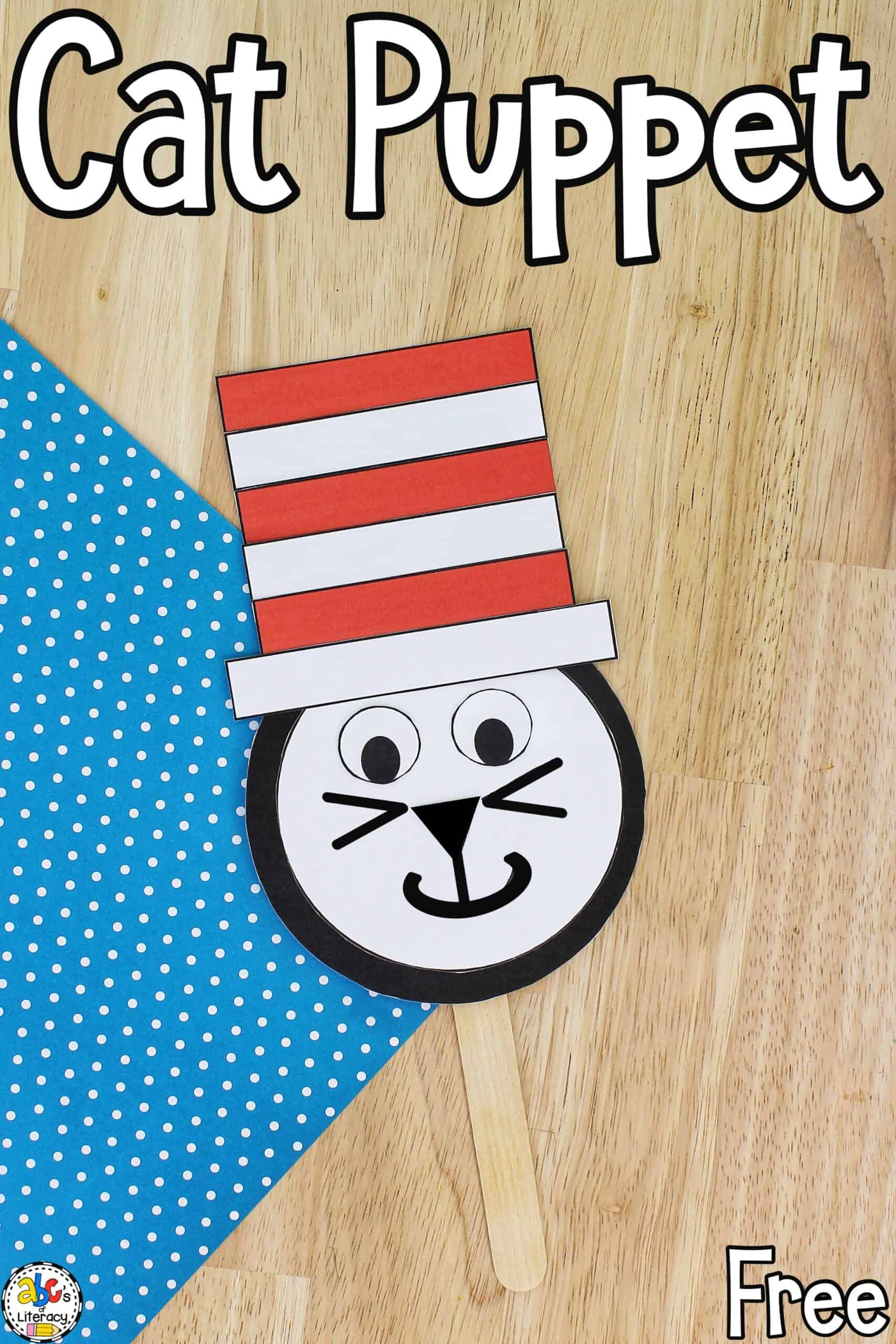 Cat Paper Puppet