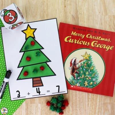Christmas Ornament Addition Game