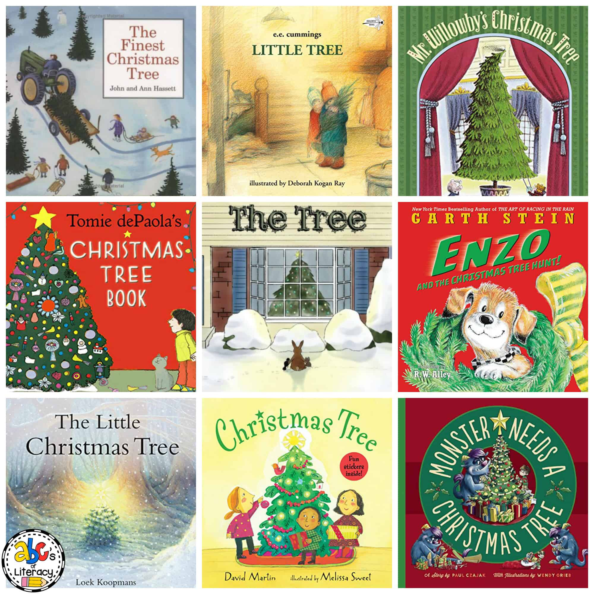 Christmas Book List for Kids