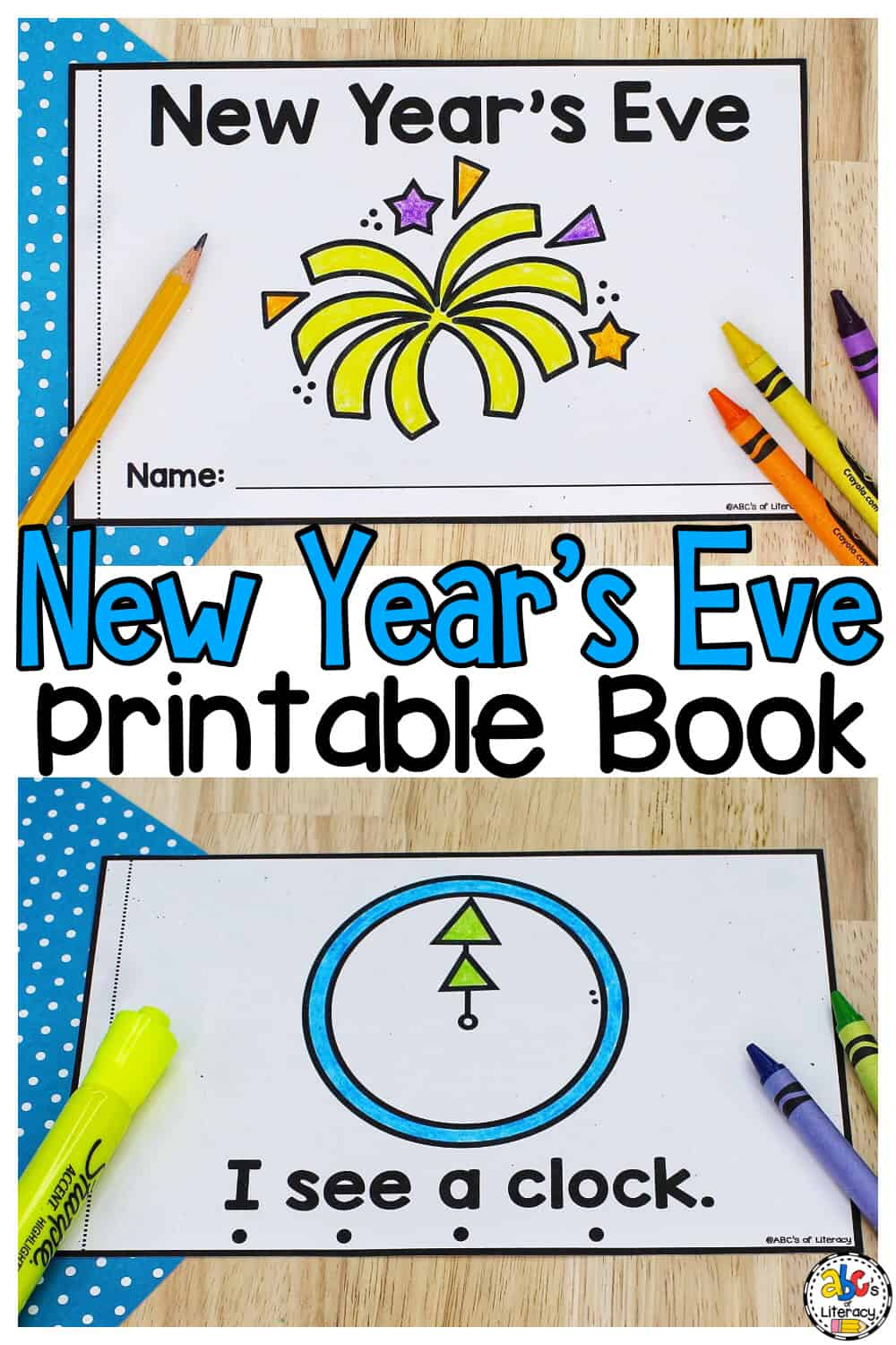 New Year's Eve Printable Book
