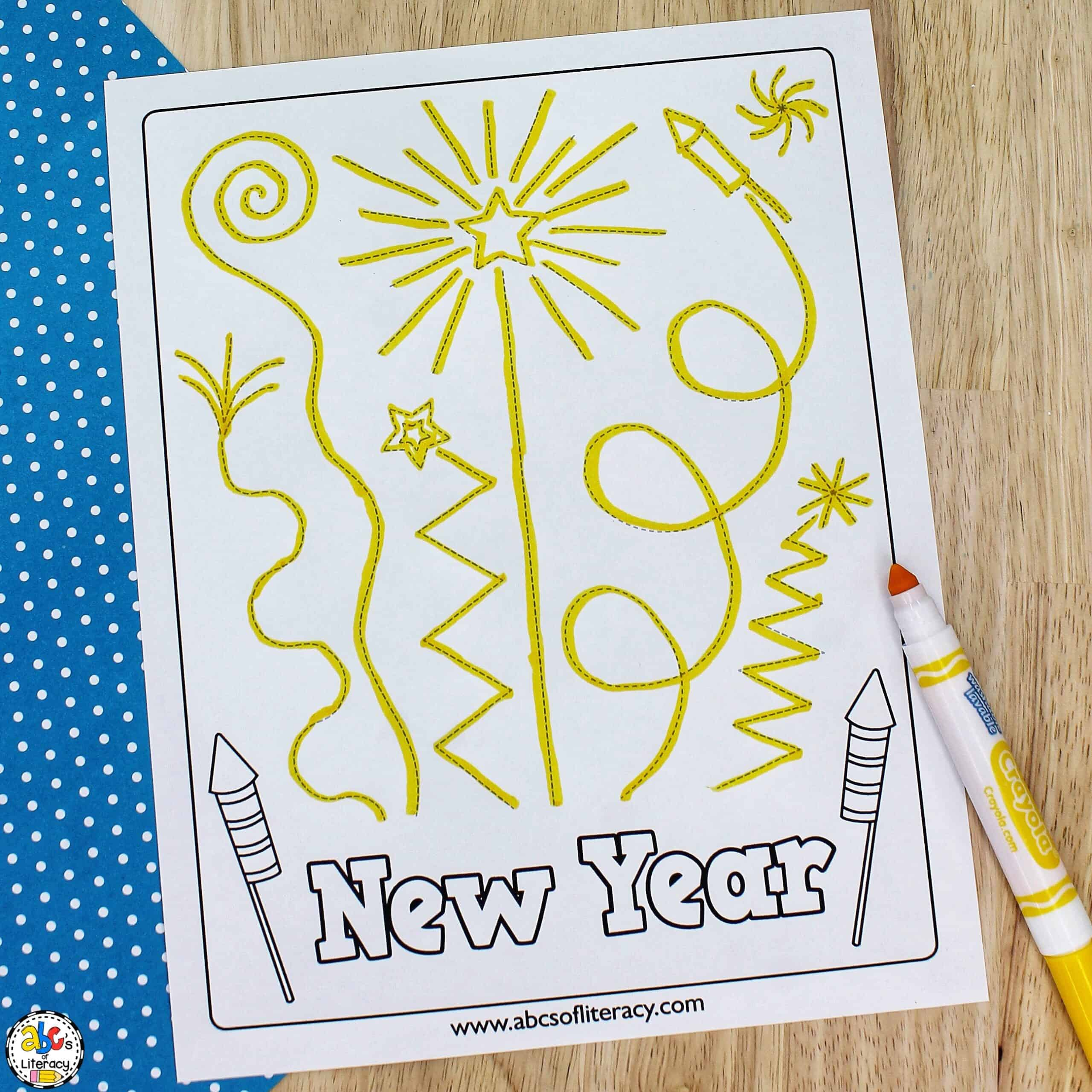 New Year's Activity for Kids