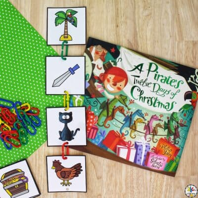 Pirate's Twelve Days Of Christmas Sequencing Activity