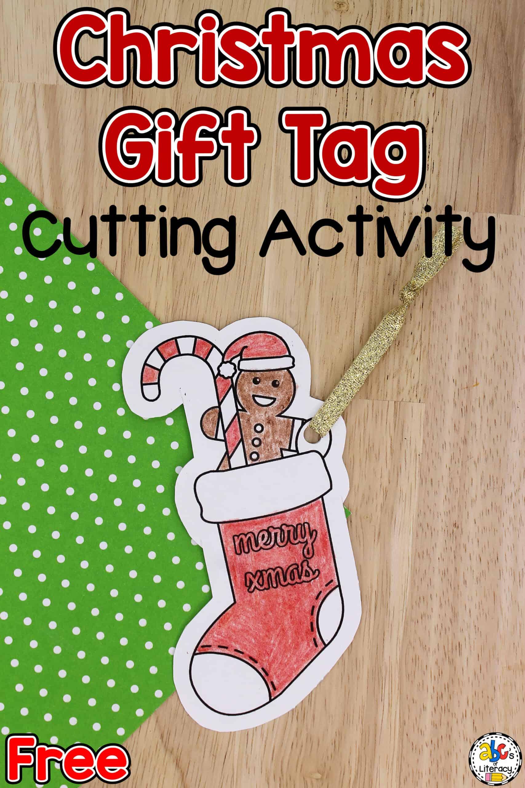Christmas Gift Tags For Kids