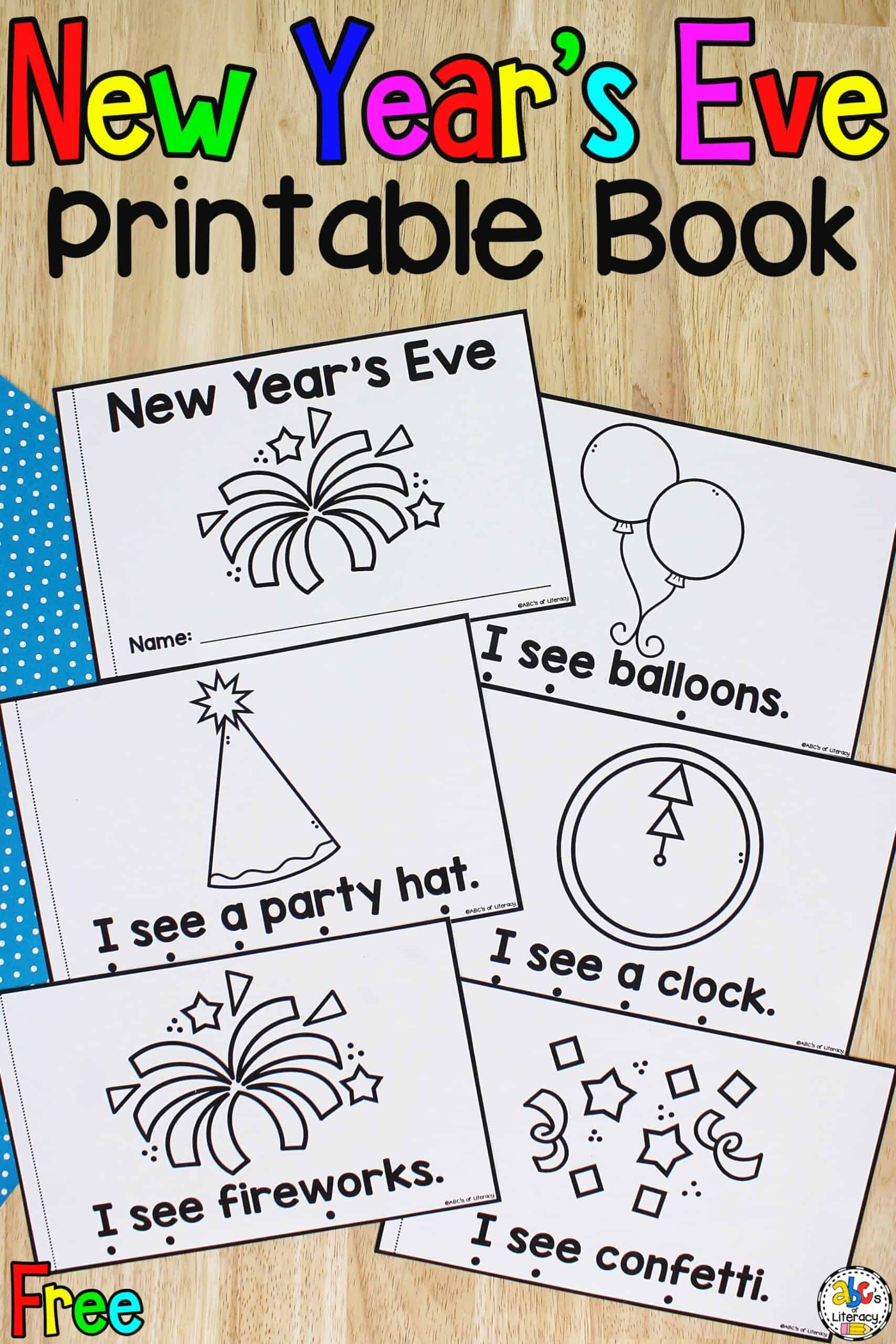 New Year's Eve Vocabulary Words