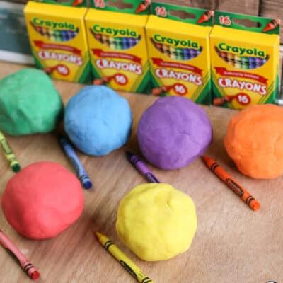 Crayon Play Dough