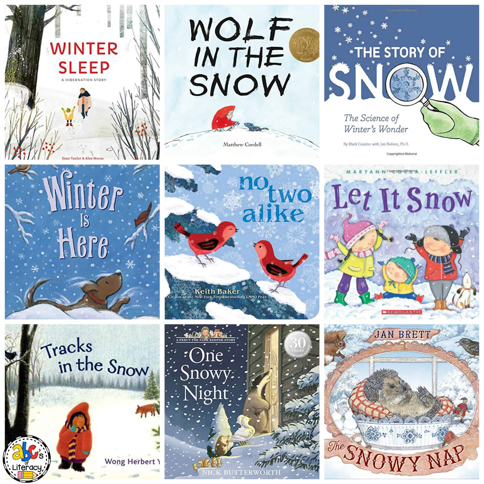 Winter Book List for Kids