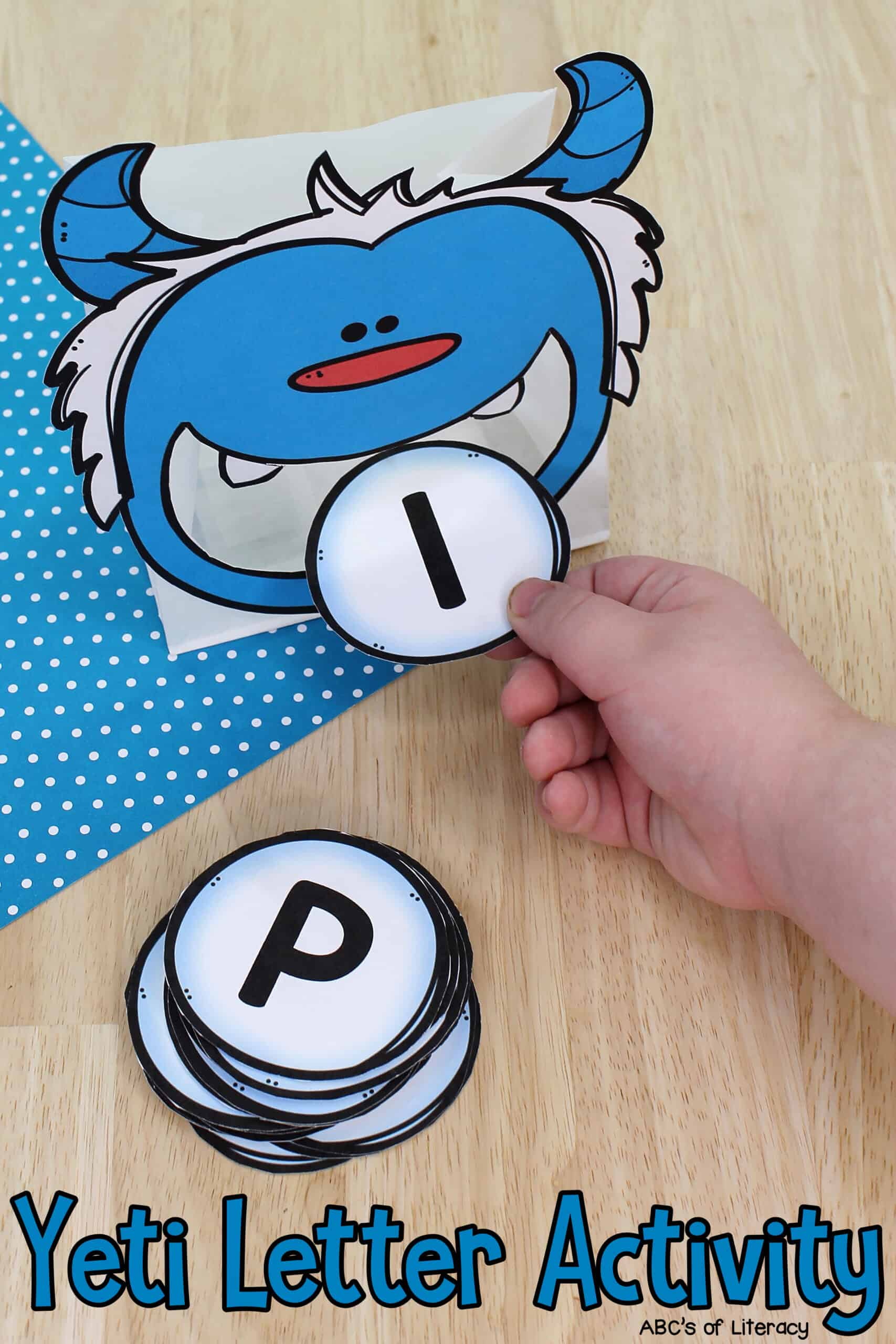 Yeti Letter Recognition Activity