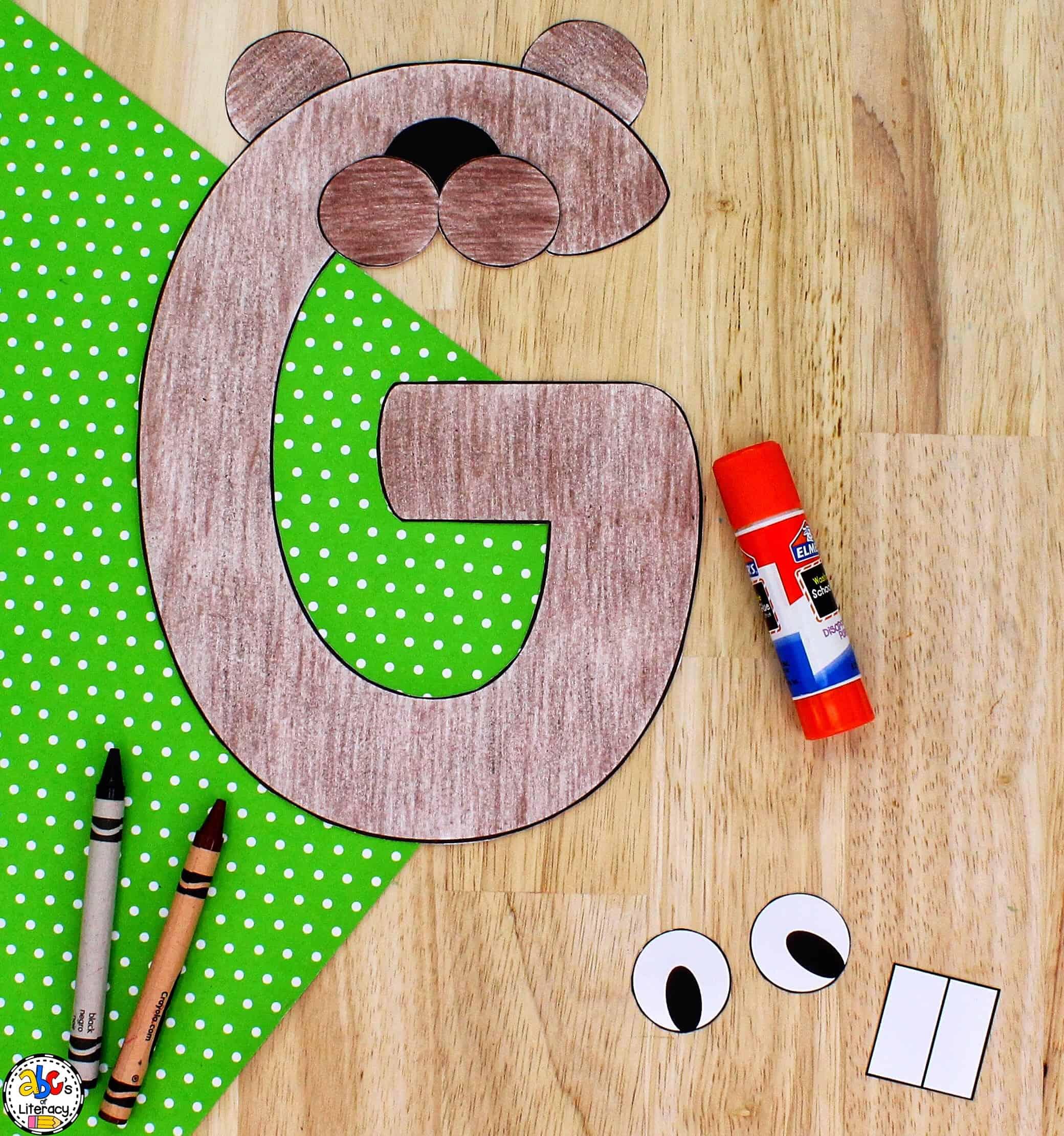 Letter G Groundhog Craft