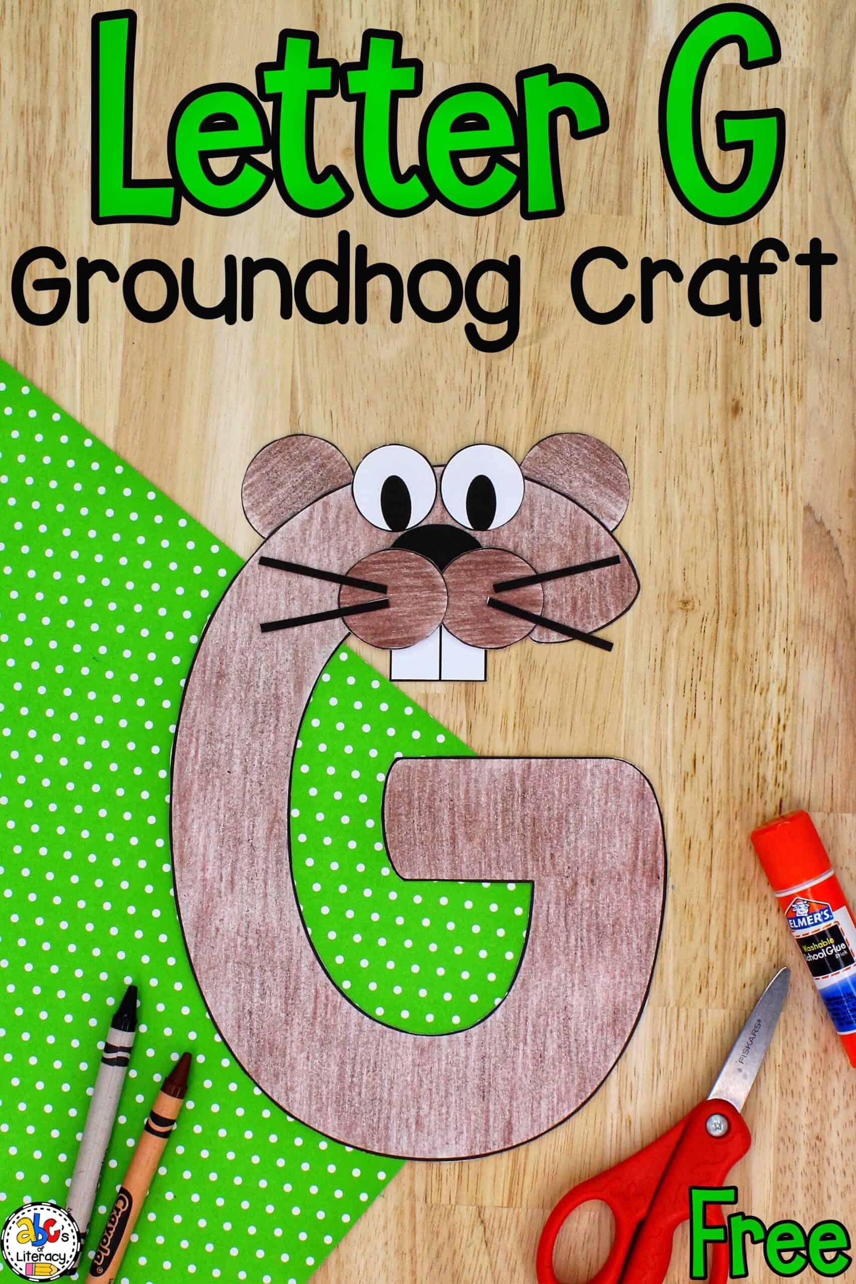 Groundhog Day Literacy Activity