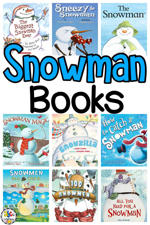Snowman Books for Preschool