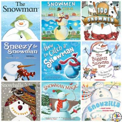 Snowman Book List for Kids