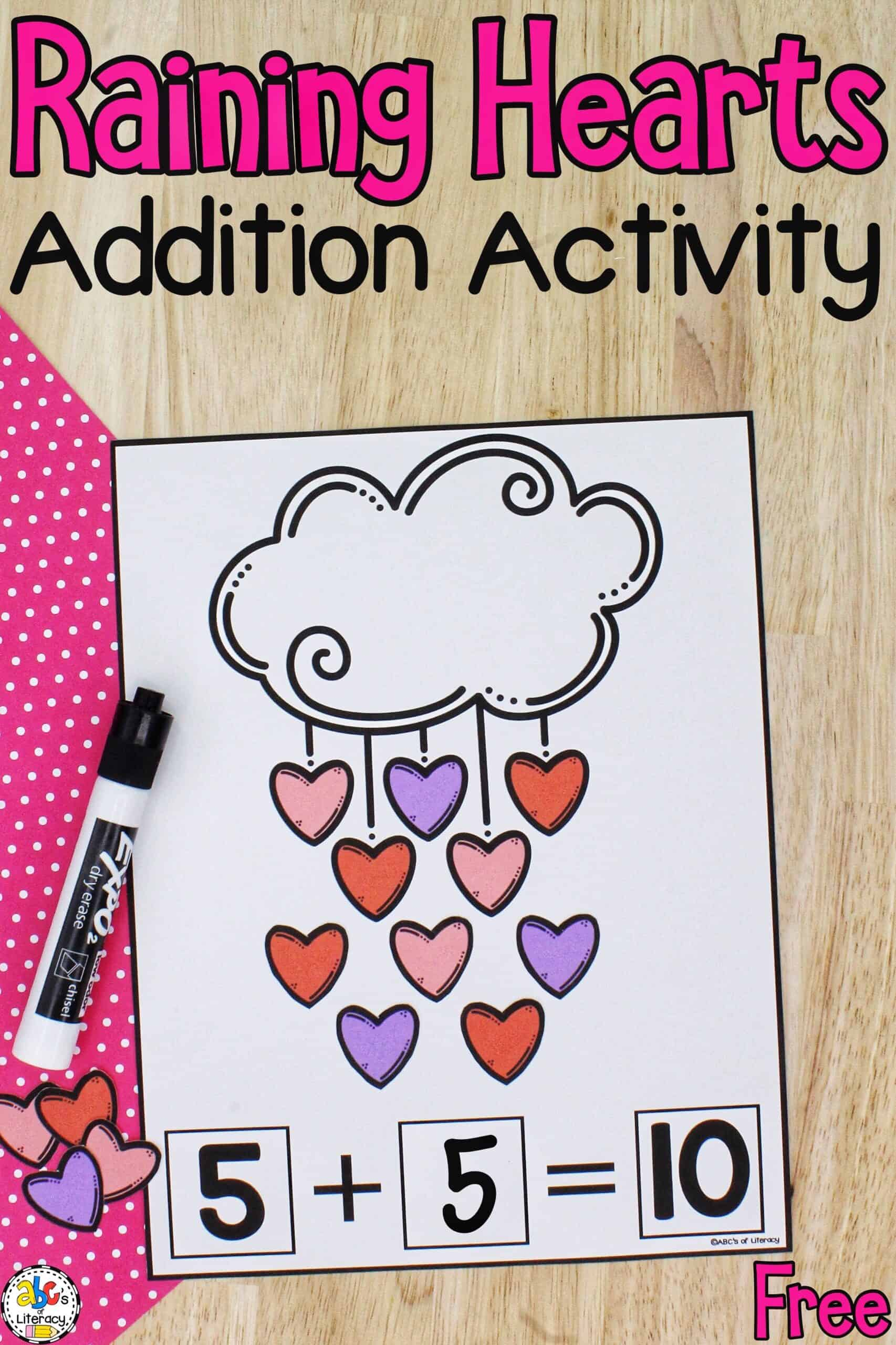 Valentine Learning Activity