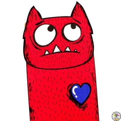 Love Monster Puppet Craft