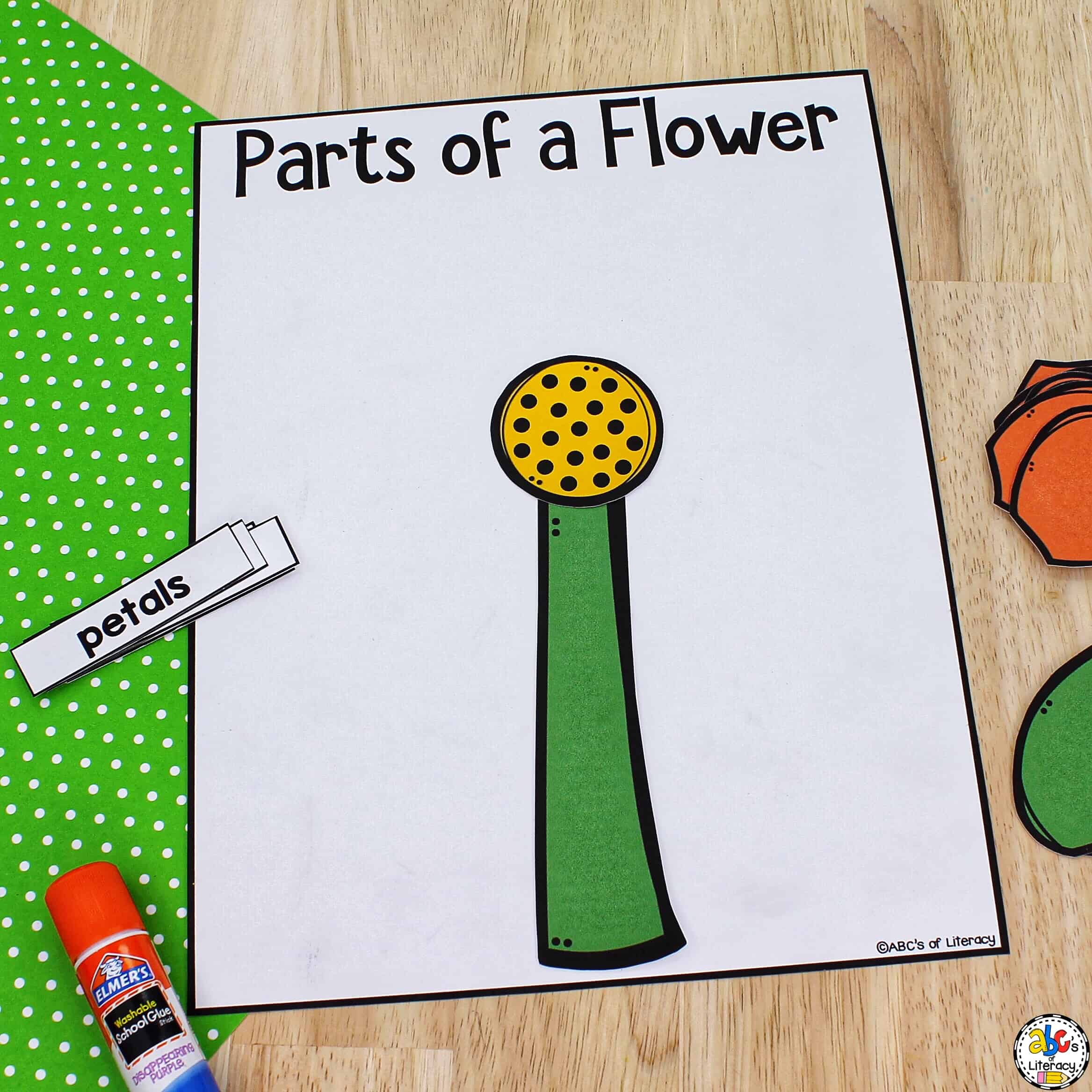 Paper Flower Craft for Kids