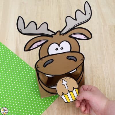 Moose & Muffin Letter Recognition Activity
