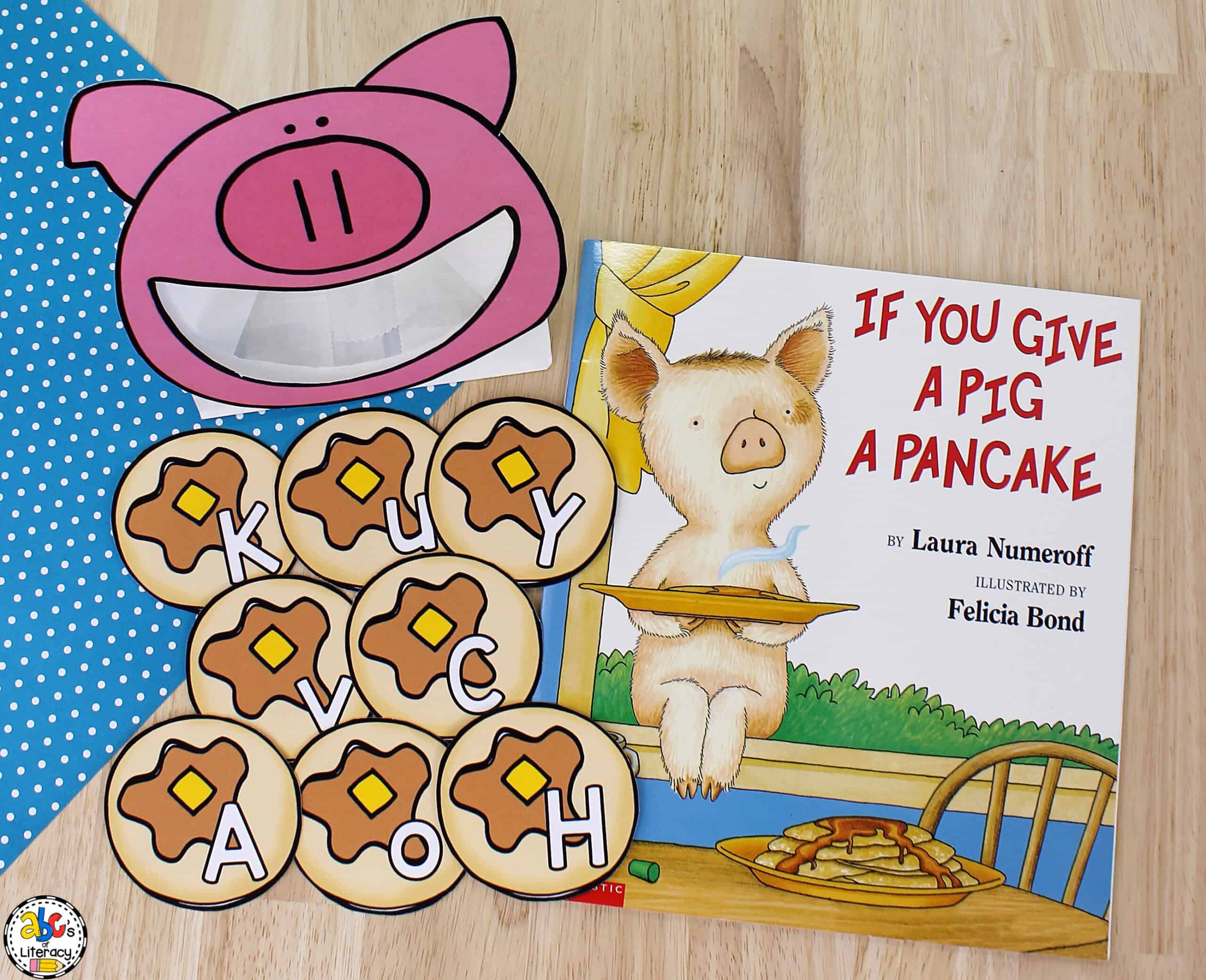 If You Give A Pig A Pancake Activity