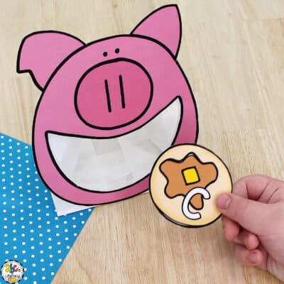 Pig & Pancakes Letter Recognition Activity