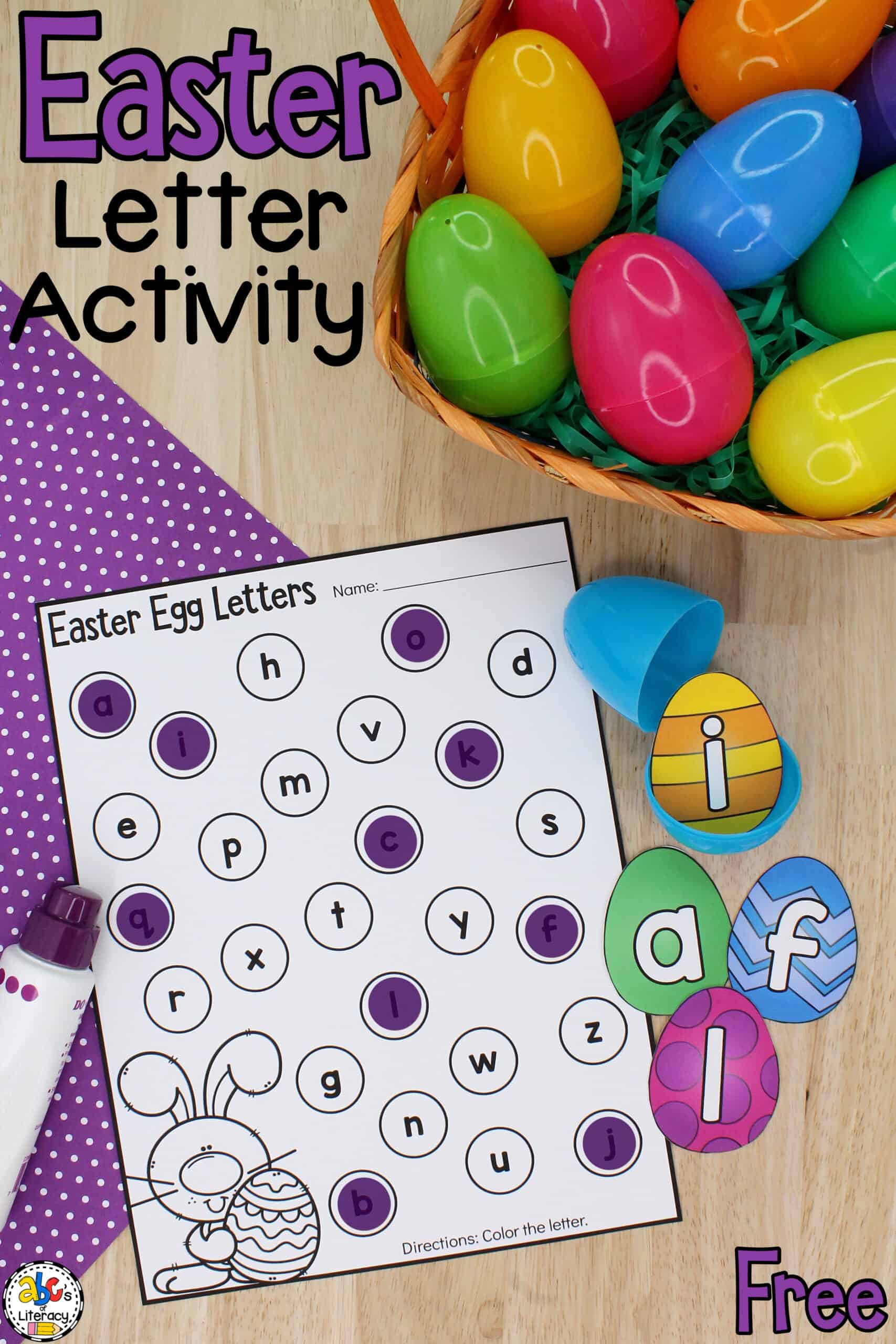 Easter Literacy Activity