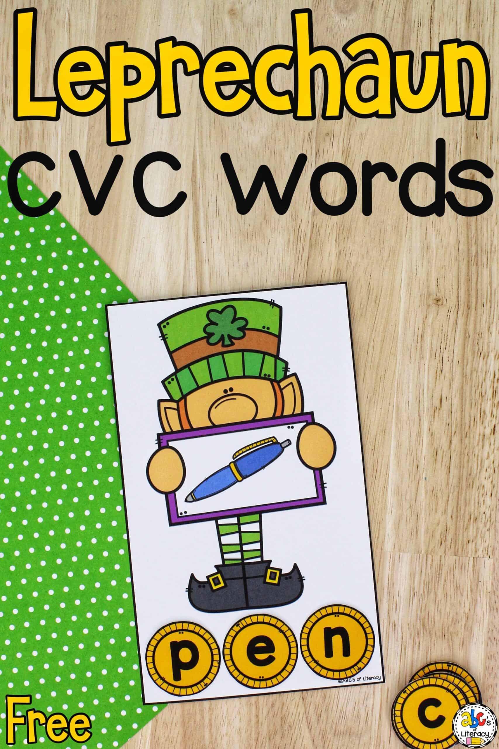 CVC Words Activity