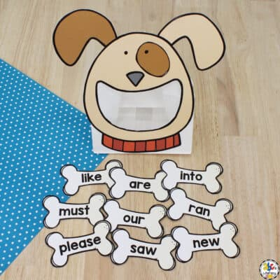 Puppy Sight Word Activity