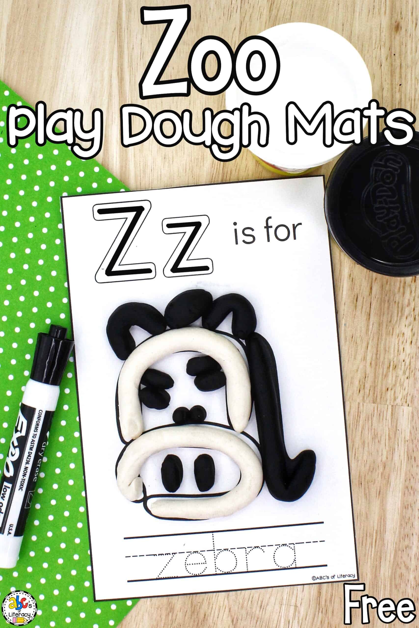 Zoo Letter Recognition Activity