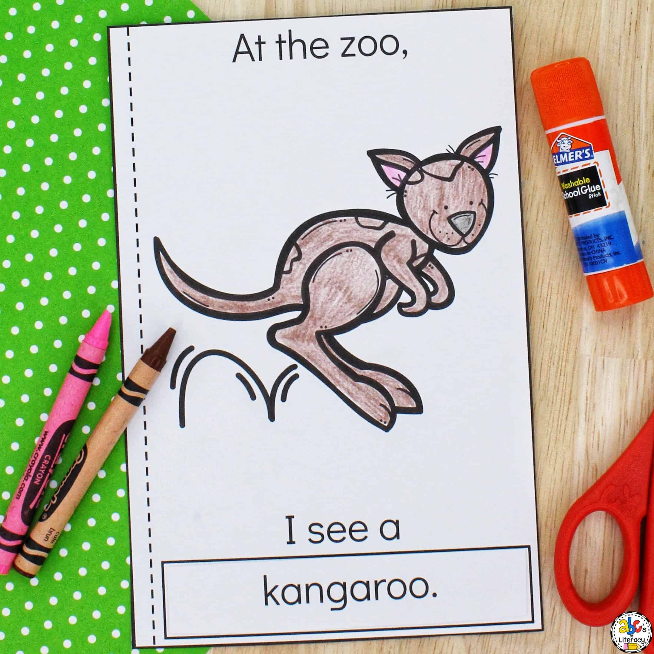 printable books for kindergarten
