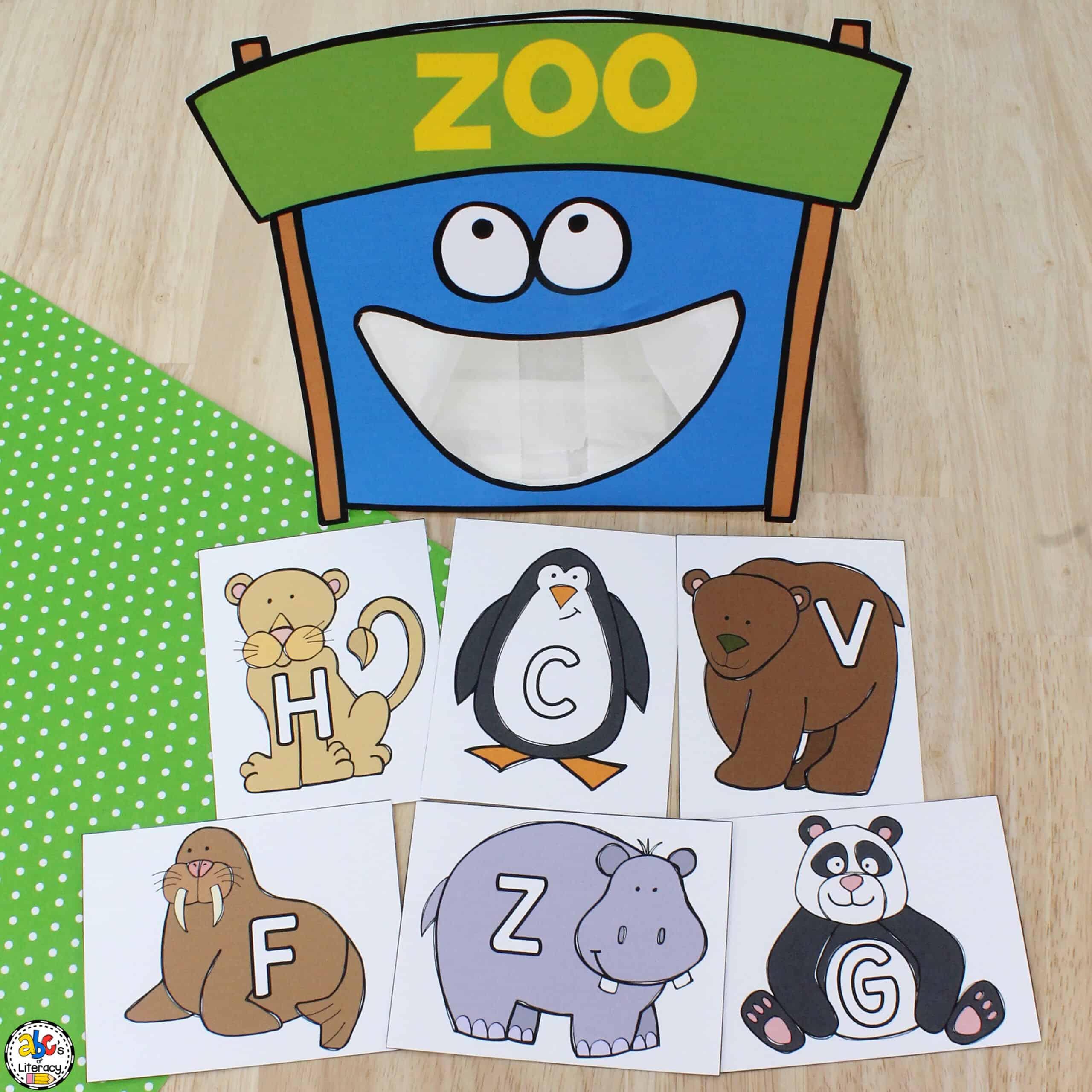 preschool letter recognition
