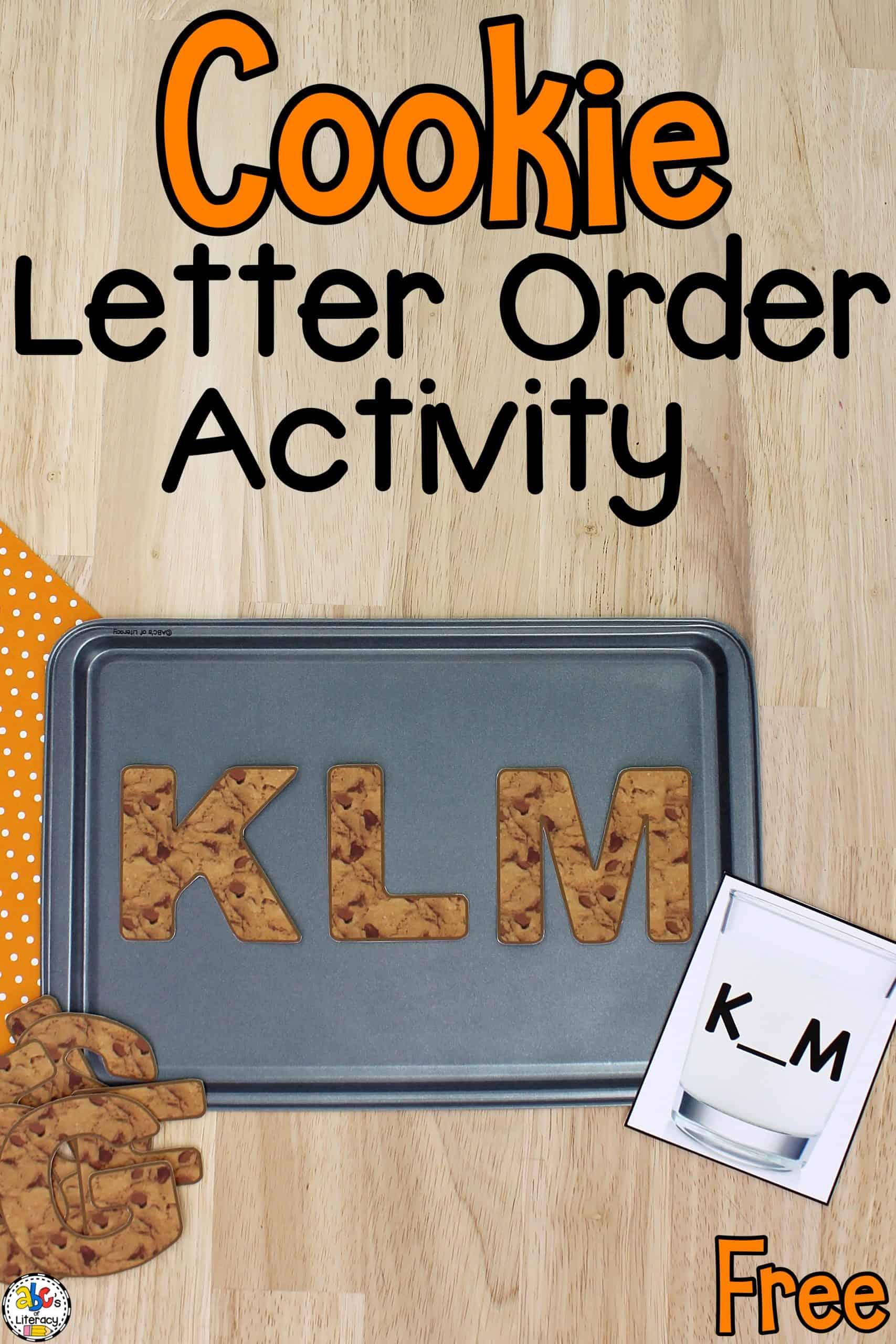 preschool letter order