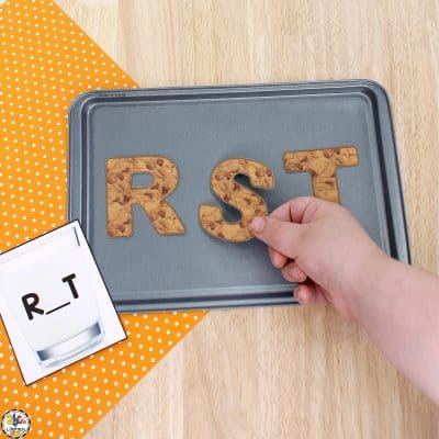 Cookie Letter Order Activity