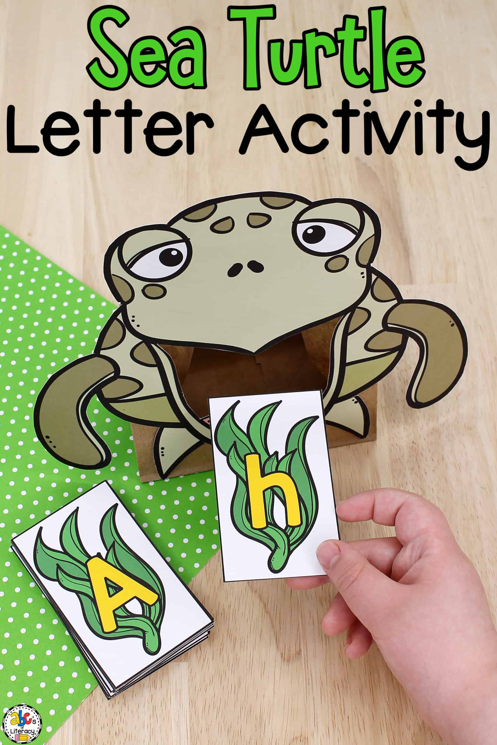Sea Turtle Letter Activity