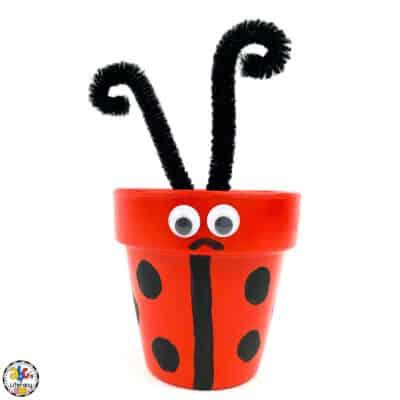 Flower Pot Ladybug Craft