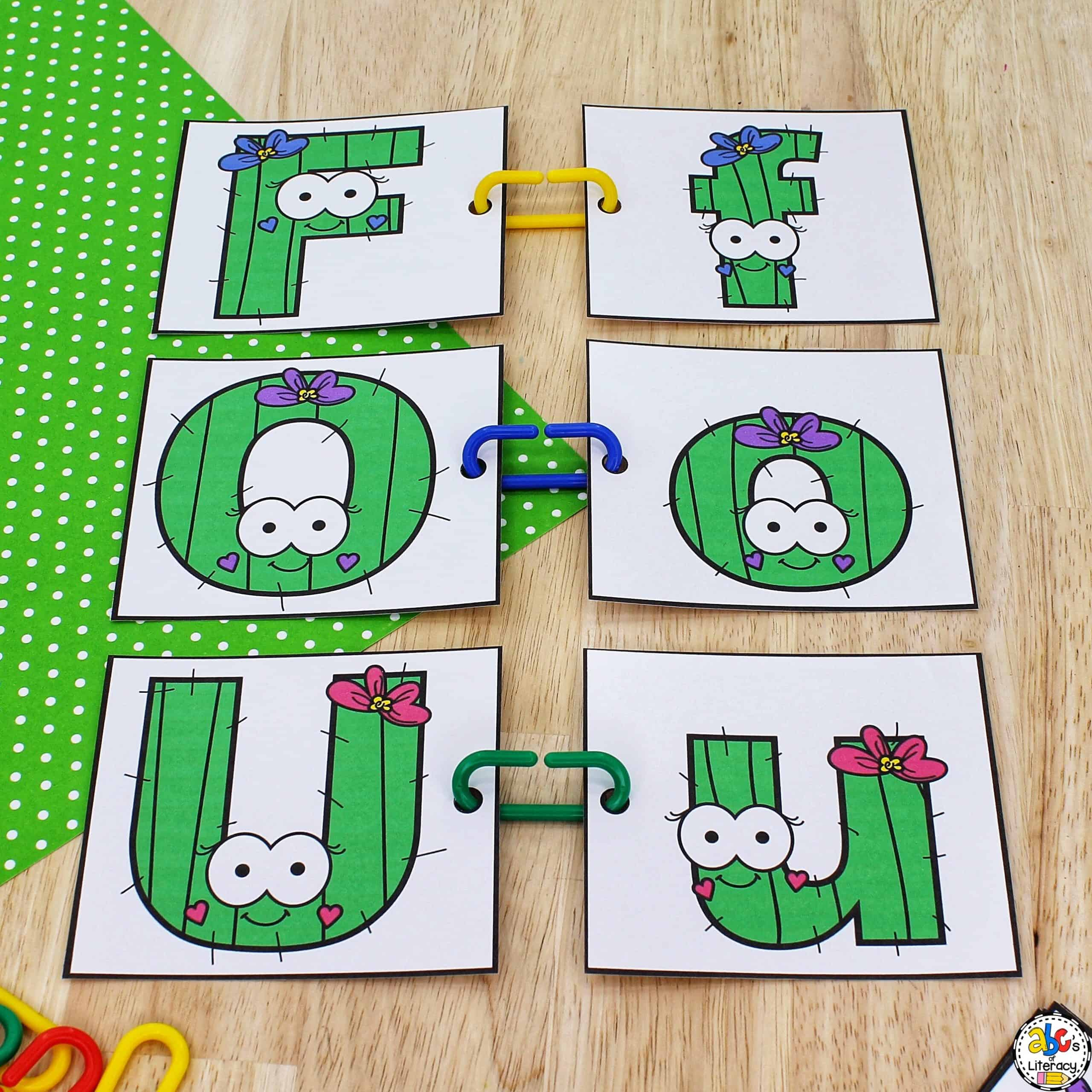 letter matching activity for preschoolers