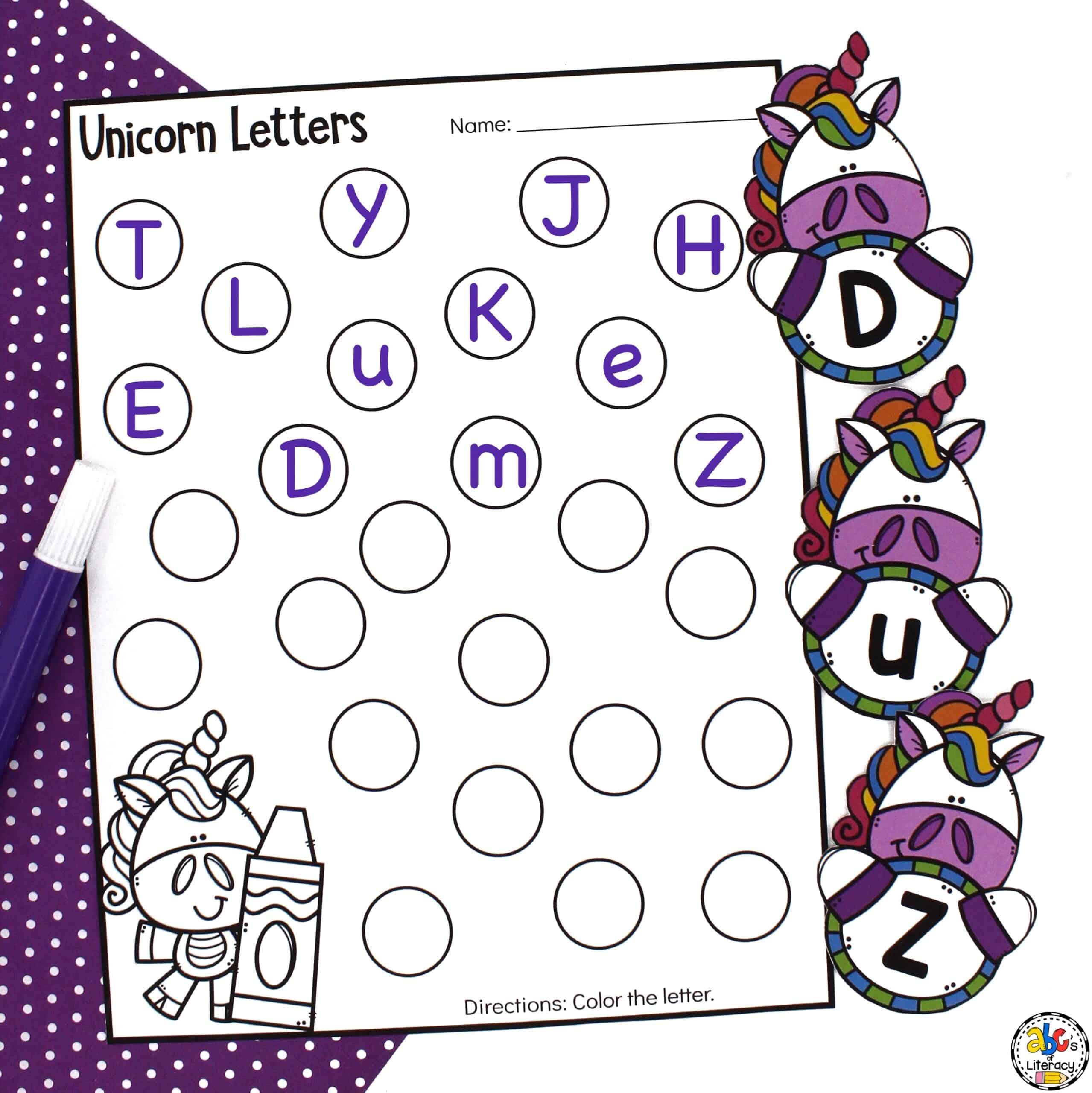 Letter Sensory Bin