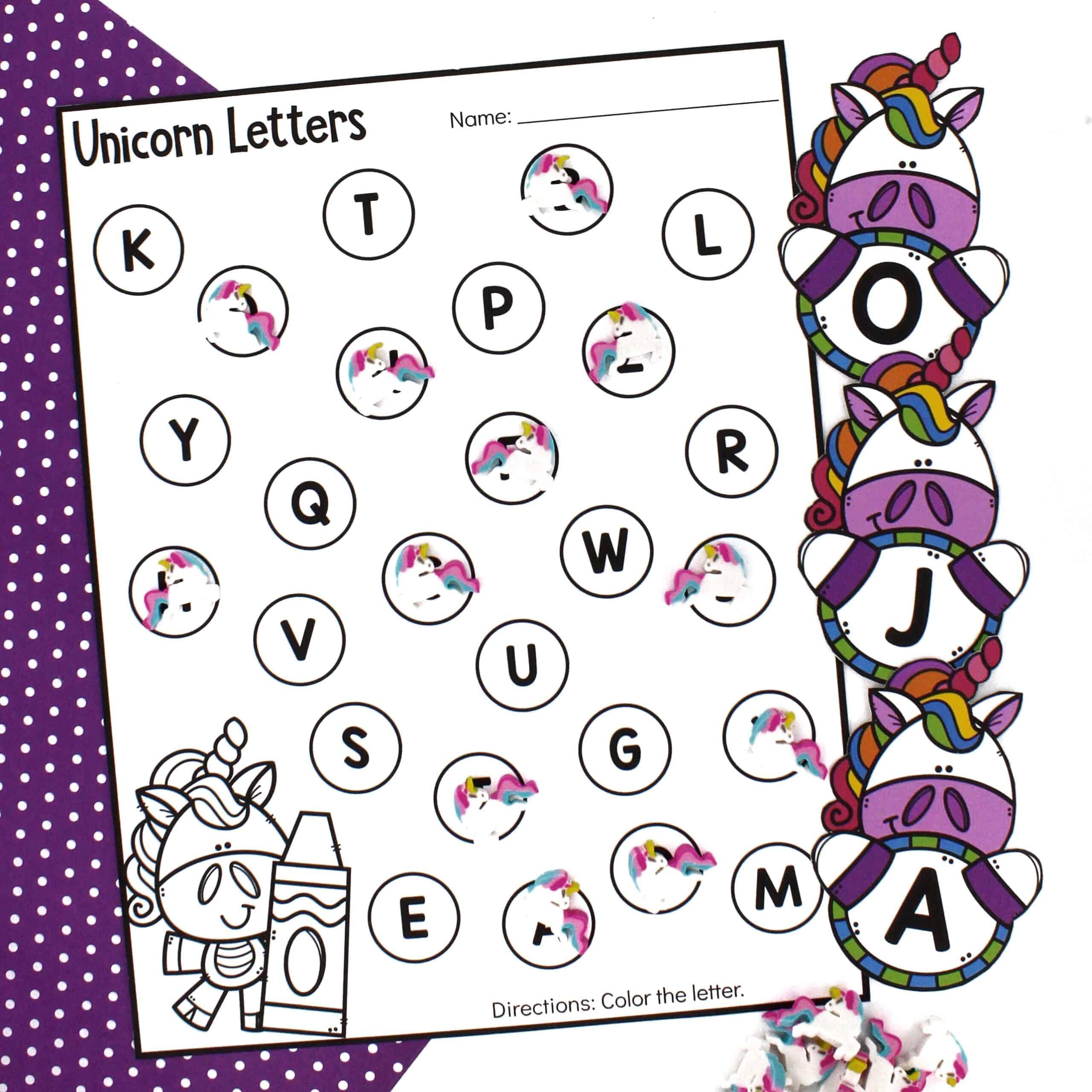 Letter Recognition Activity