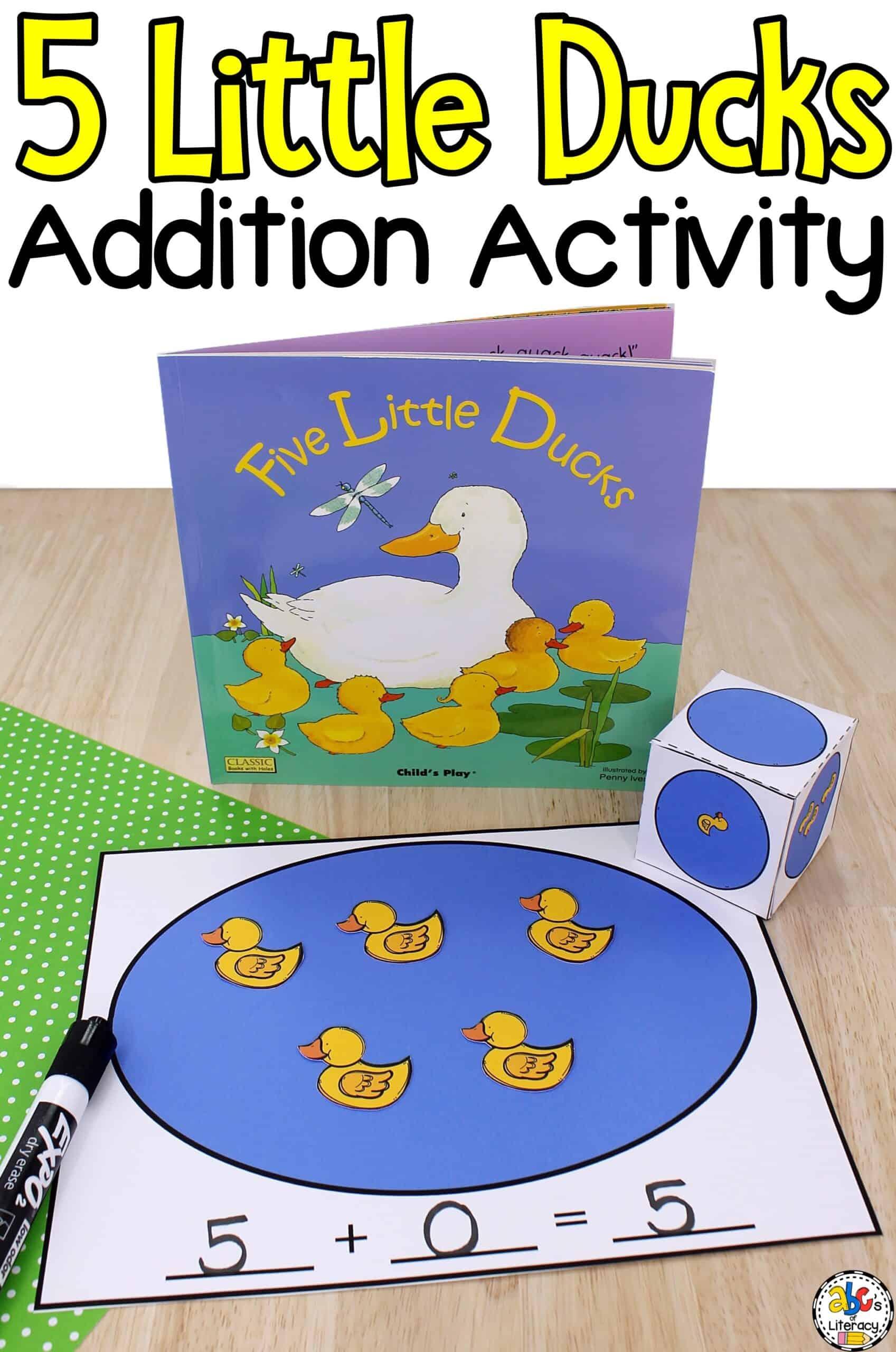 Math Activity for Preschool