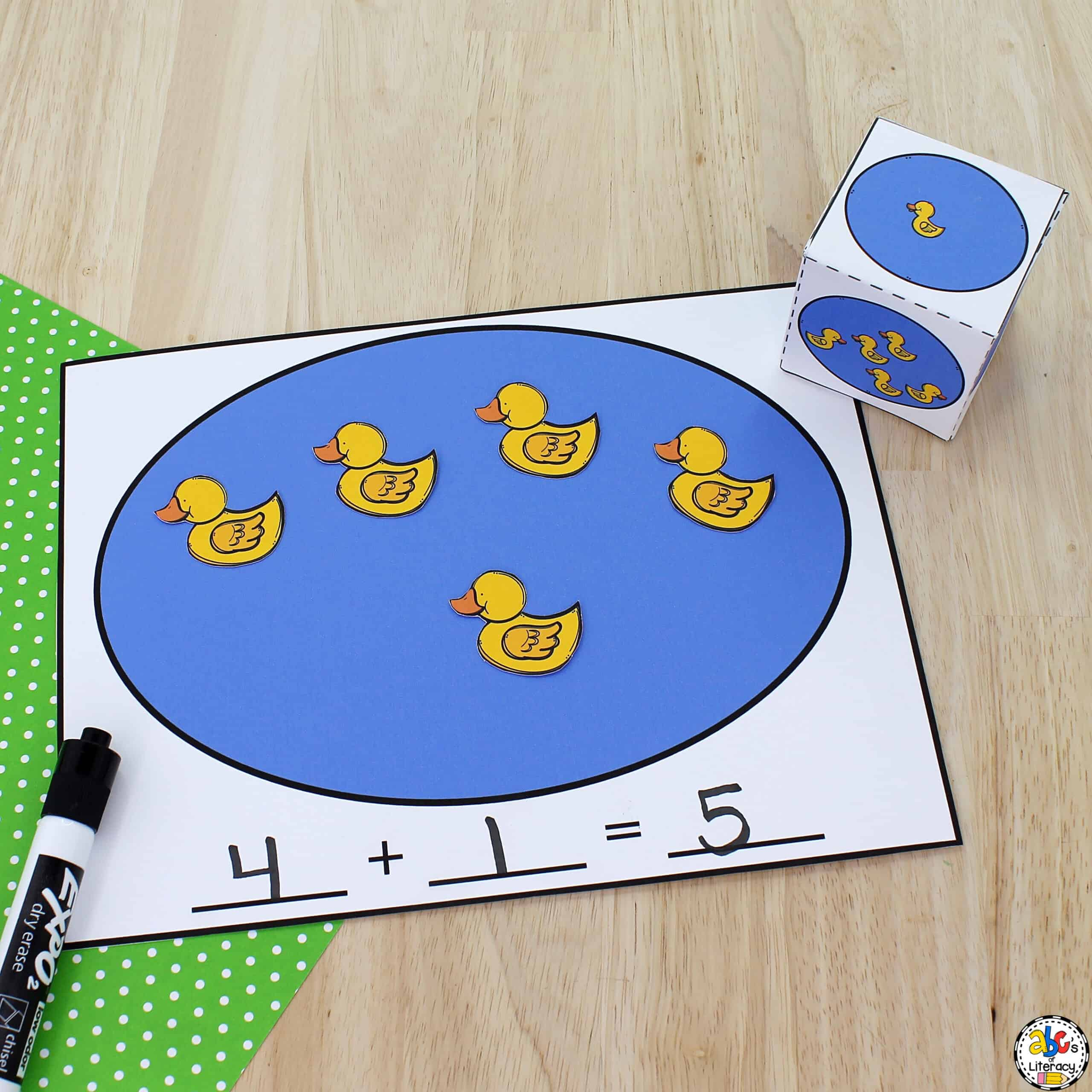 Book-Inspired Addition Activity
