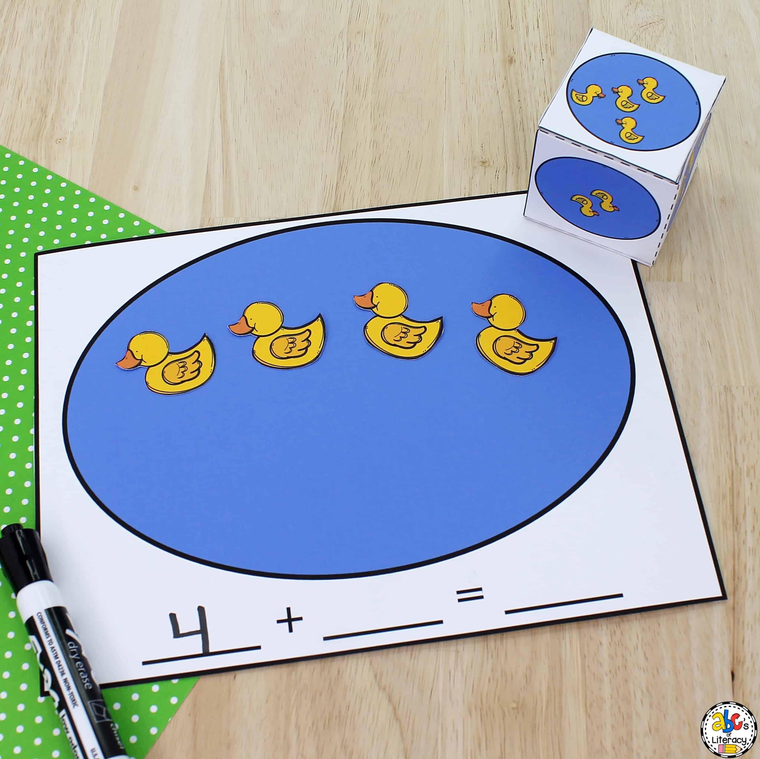 Five Little Ducks Activity