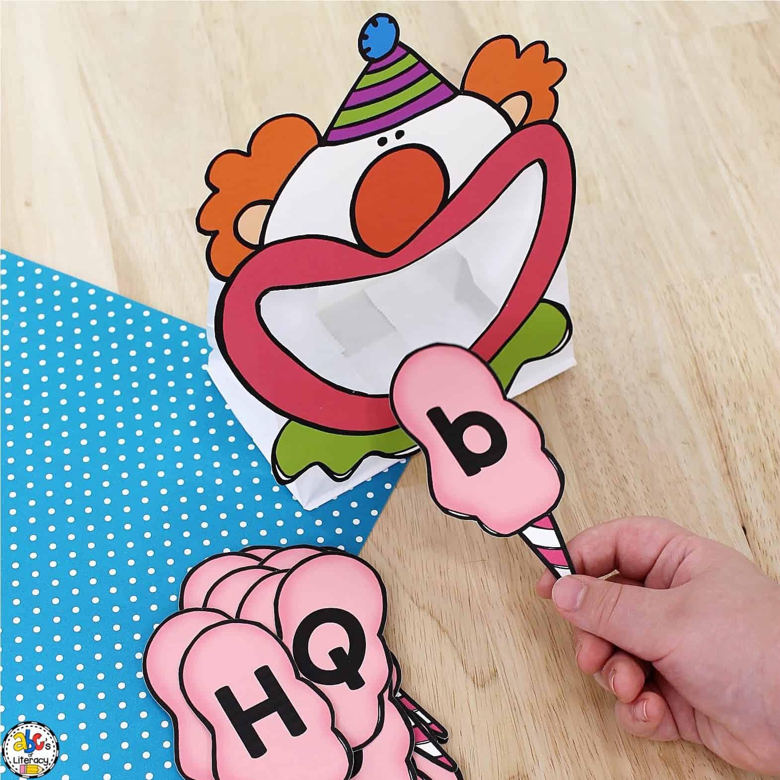 Circus Activity for Preschoolers