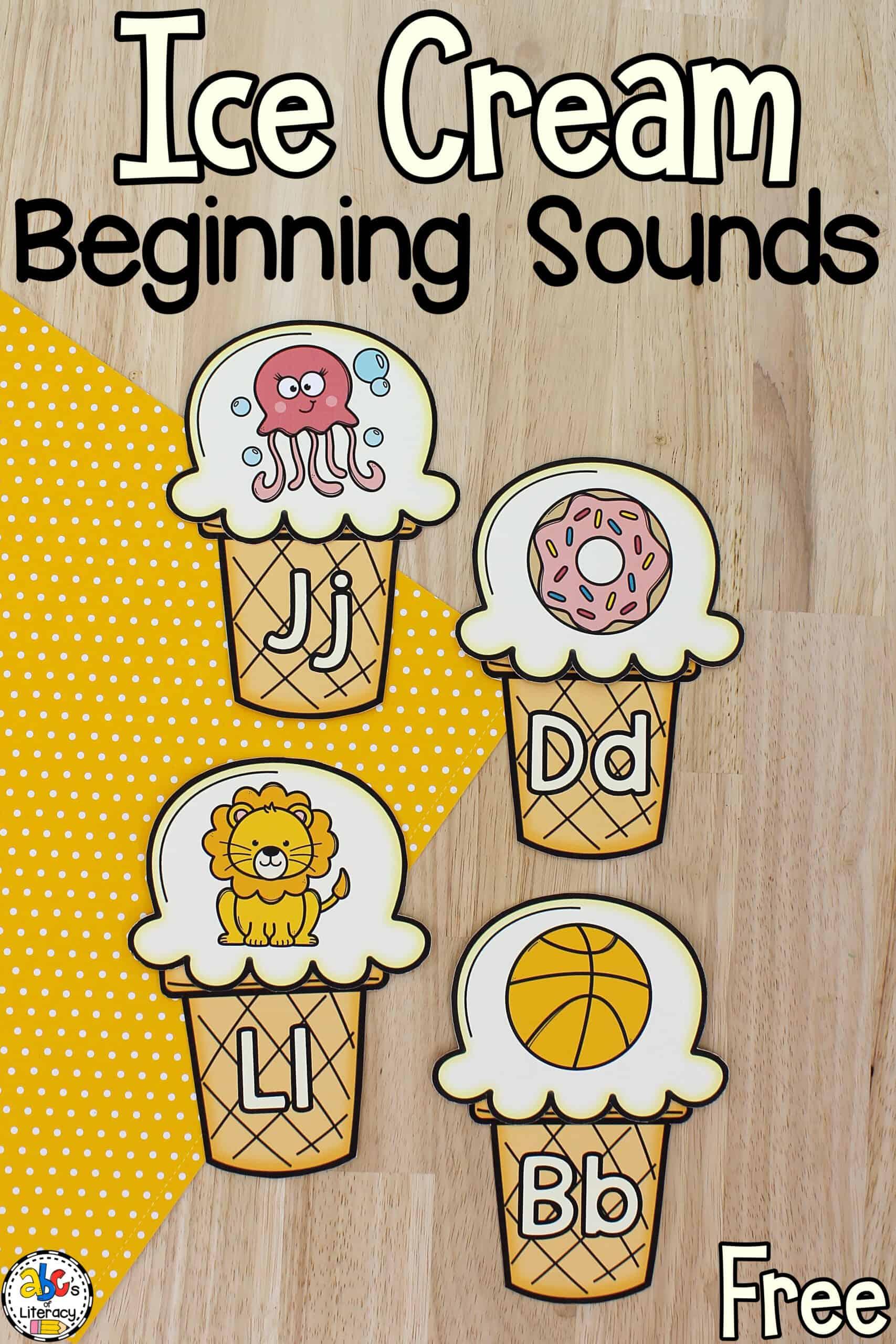 Beginning Sounds Activity