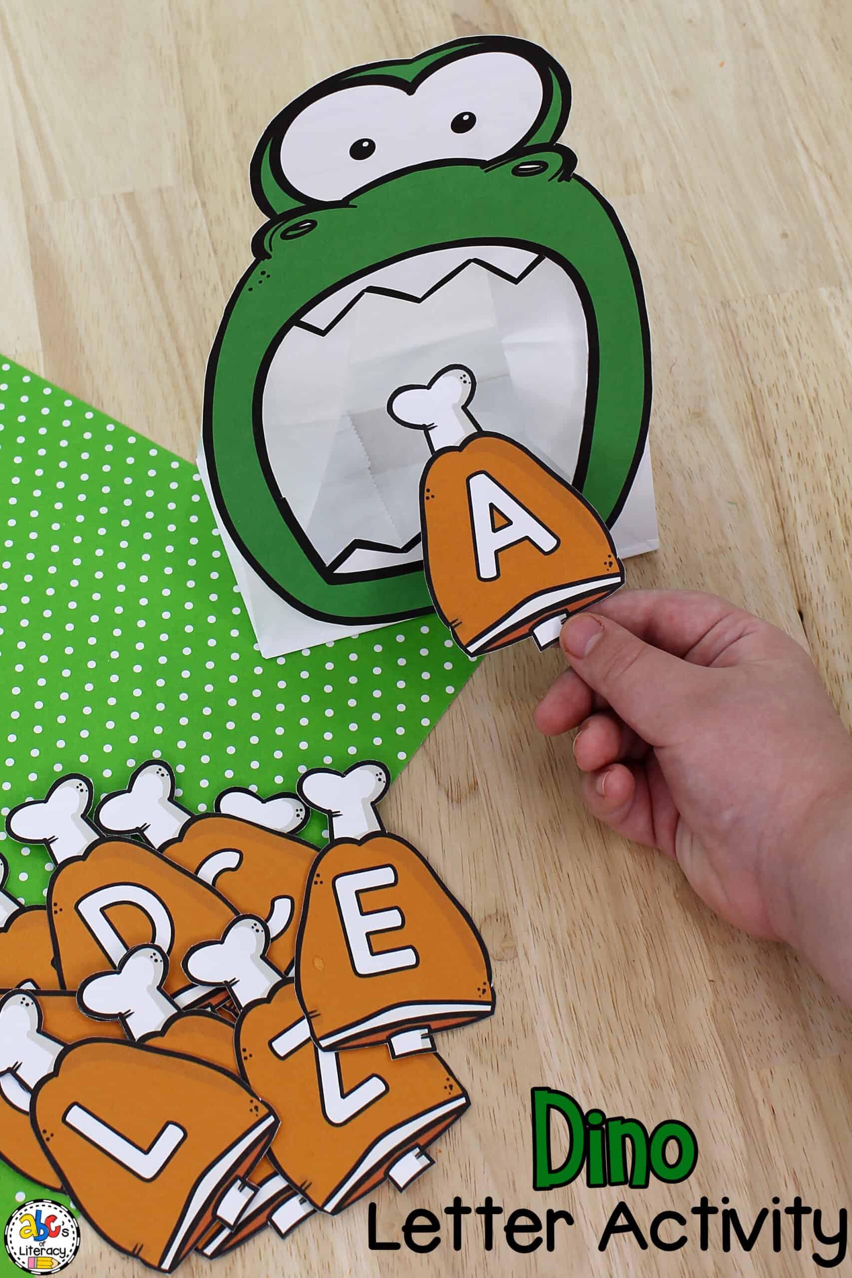 Dinosaur Letter Activity
