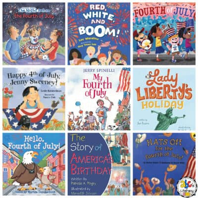 4th of July Books for Preschoolers